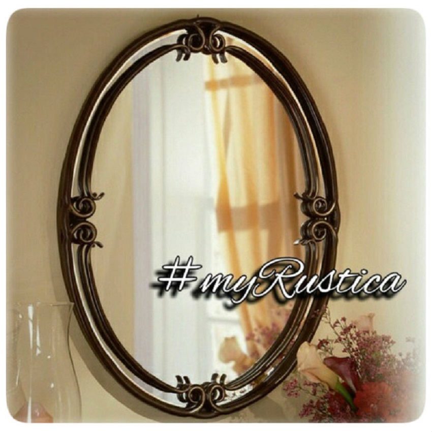 rustic mirrors for bathroom, living room, fireplace mantel and bedroom